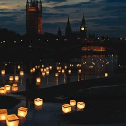Plávajúci lampáš