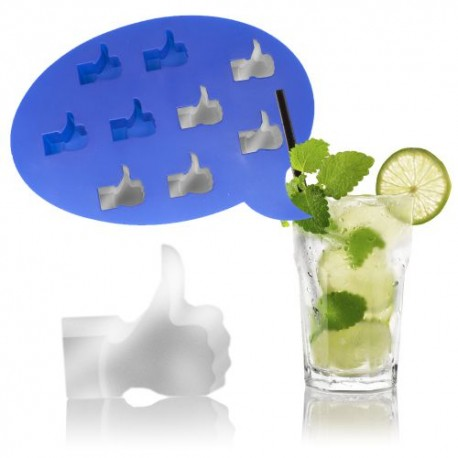 Ľadový LIKE facebook