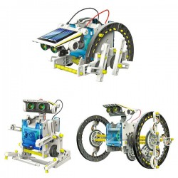 Solárna hračka 14v1 - EDUCATIONAL SOLAR ROBOT