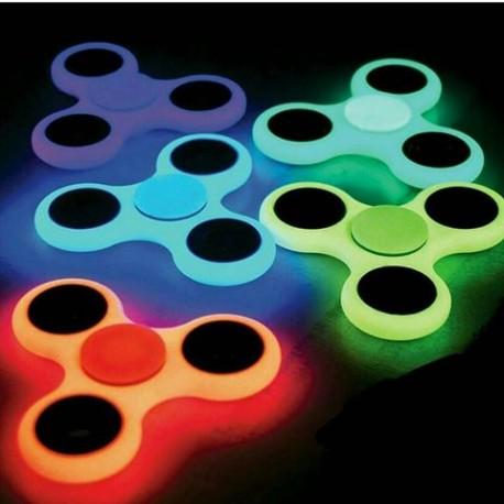 Fosforový fidget spinner - antistresová hračka