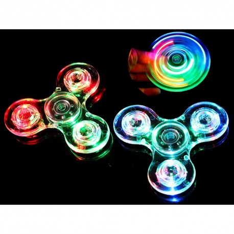 Svietiaci fidget spinner 2 - antistresová hračka