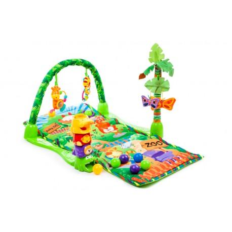 Detská hracia deka - Tropical Zoo