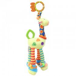 Plyšové hryzátko - žirafa 45 cm