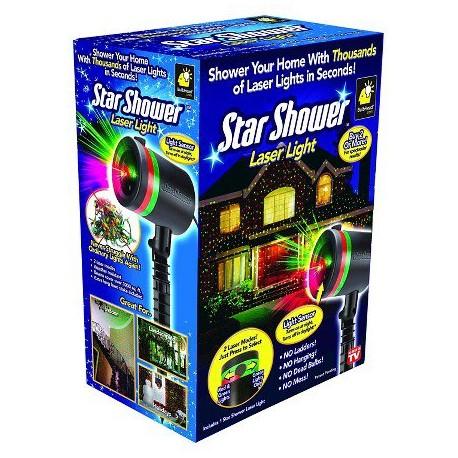 Laserová lampa - Star Shower