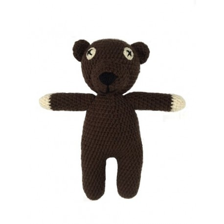 Medvedík - Mr. Bean 30cm - ručná práca