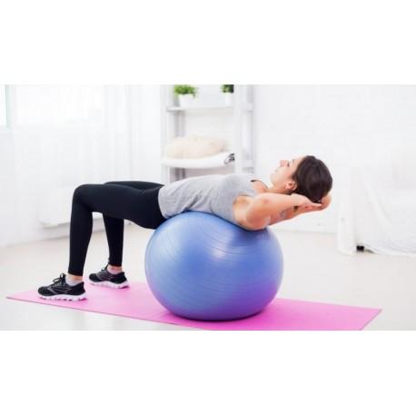 Fitness lopta s pumpou