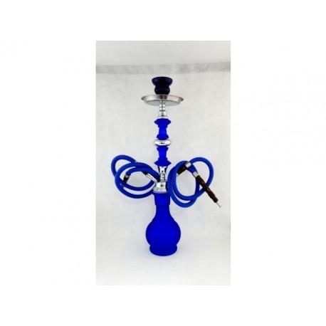 Značková vodná fajka HOOKAH trojhadicová - stredná veľkosť (45cm)