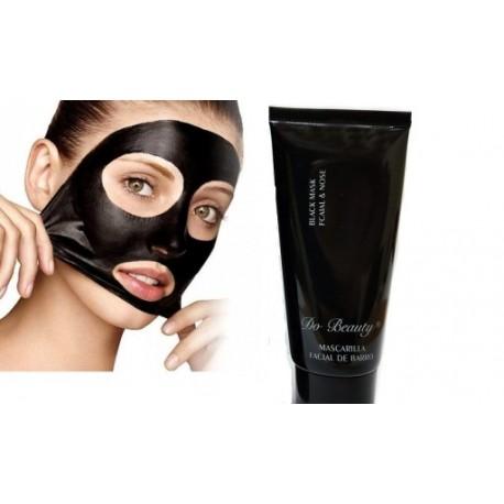 Čierna zlupovacia maska na tvár