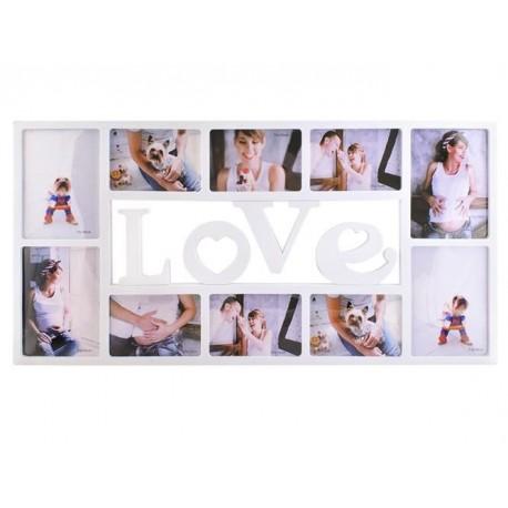 Fotoramček na 10 fotiek - Love