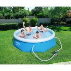 Bazén Fast Set s filtračným čerpadlom 244x66 cm BESTWAY 57268