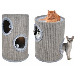 Domček pre mačky 50cm sivá