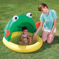 Detský bazén Žabka so strieškou 107x104x71 cm