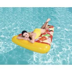 03513 Nafukovacie lehátko Pizza Party 165x110x17cm