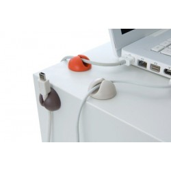 Držiak na káble - Cable clip 6ks