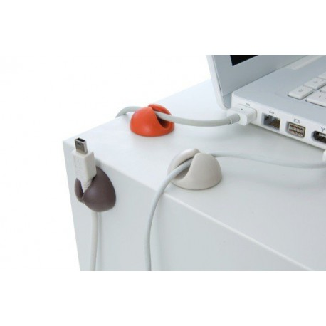 06199 DR Držiak na káble - Cable clip 6ks
