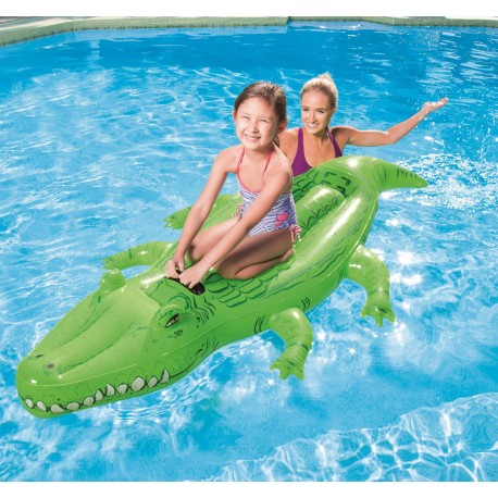 Nafukovací krokodíl 167x89 cm BESTWAY 41010