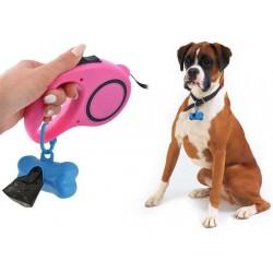 Zásobník na sáčky na psie exkrementy + 570 sáčkov
