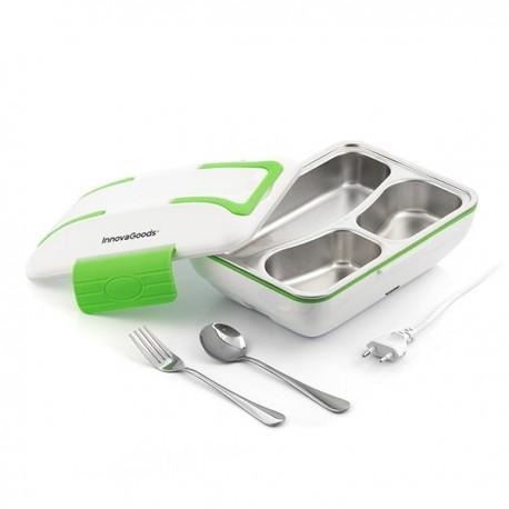 V0100697 InnovaGoods Elektrický jídlonosič PRO 50W InnovaGoods - Bílo zelená