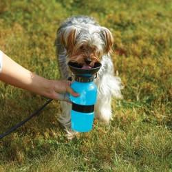 Cestovná fľaša na vodu pre psov 550ml