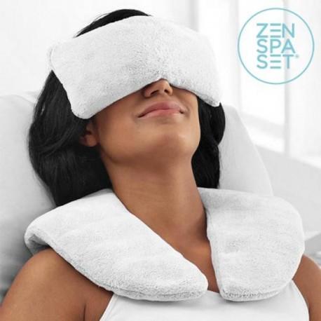 Wellness sada Zen - hrejivý aj chladivý vankúšik + relaxačné obklady