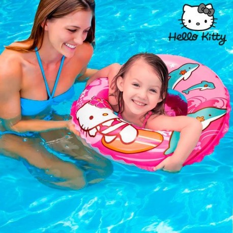 56200 DR Nafukovací kruh - Hello Kitty