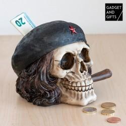 Pokladnička lebka osloboditeľ s cigarou