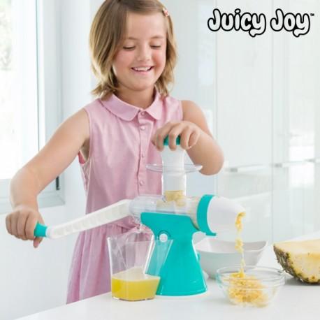 Prístroj na prípravu džúsu a zmrzliny s kľučkou Juicy Joy