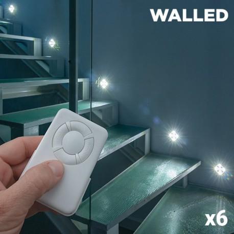 LED osvětlení Walled Mini s dálkovým ovládáním