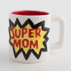Keramický hrnček Super MOM