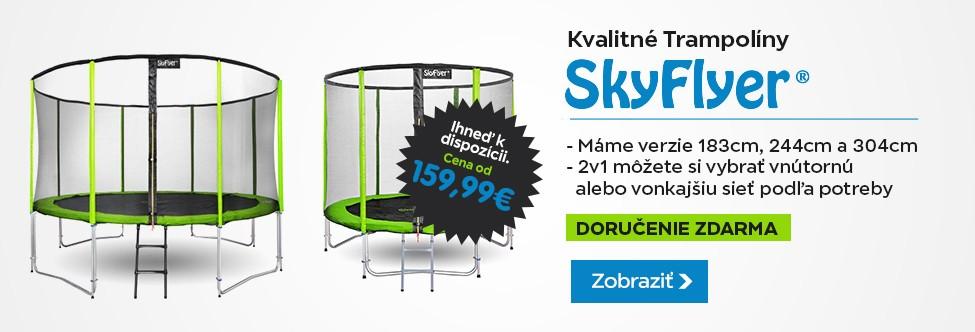 Trampolína SKY FLYER RING 2v1