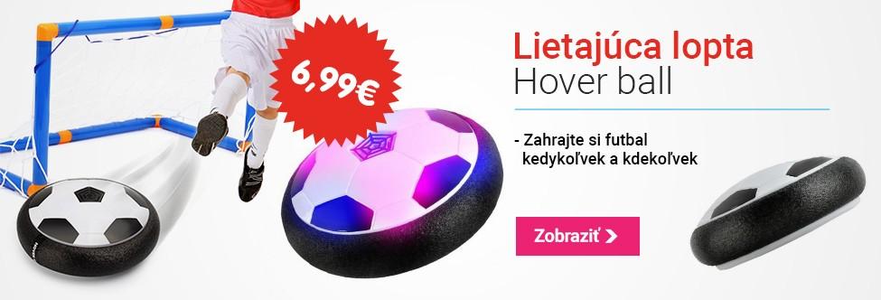 Hover ball - lietajúca LED lopta