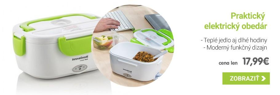 Elektrická dóza na jedlo 40W - Bielo zelená