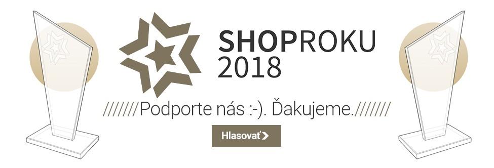 Hlasujte v shoproku 2018. Ďakujeme